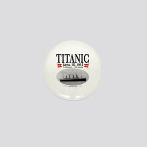 Titanic Ghost Ship (white) Mini Button